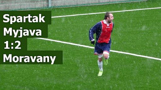 Spartak Myjava 1:2 Moravany