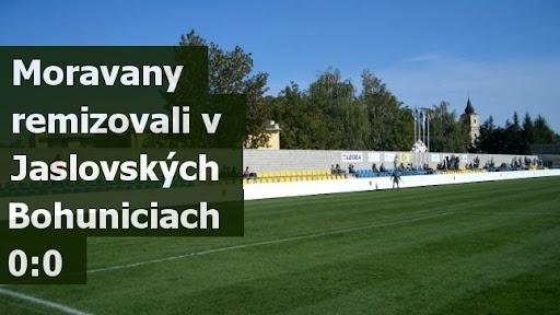 Moravany remizovali v Jaslovských Bohuniciach 0:0