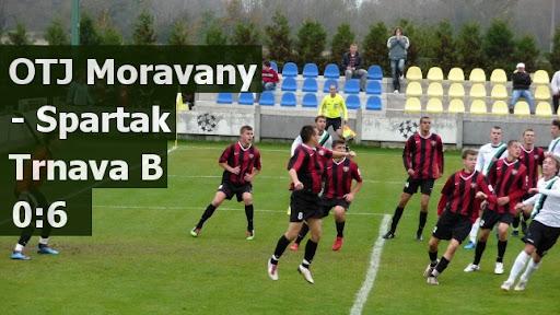 OTJ Moravany - Spartak Trnava B 0:6