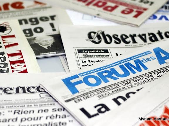 – Les quotidiens et journaux de la presse kinoise.