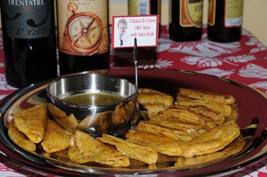 Comidas - mesa  na cozinha - mini tacos