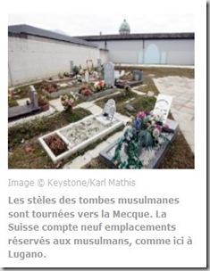 Tombes musulmanes Lugano