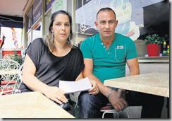 Depuis une année, Nathalie et Adem Sallahaj font des pieds et des mains pour que le jeune Alban puisse obtenir un visa à destination de la Suisse. LAUSANNE, LE 30 JUILLET 2009, Zoé Jobin