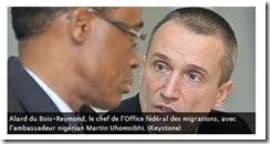 a dubois-reymond et ambassadeur nigeria