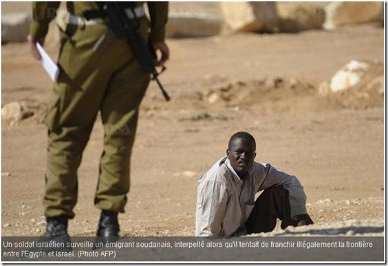israel soldat clandestin