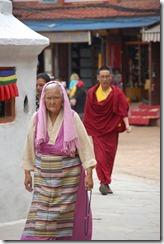 Nepal 2010 - Kathmandu ,  Estupa de Bodnath - 24 de septiembre  -    09