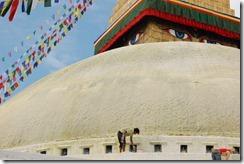 Nepal 2010 - Kathmandu ,  Estupa de Bodnath - 24 de septiembre  -    75
