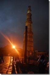 India 2010 -  Delhi  - Minarete de Qtub Minar  , 13 de septiembre   20