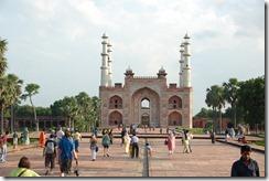 India 2010 - Agra -Sikandra, mausoleo de Akbar , 17 de septiembre   25
