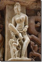 India 2010 -Kahjuraho  , templos ,  19 de septiembre   17