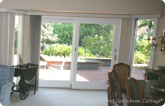 My Greenbrae Cottage New Dining Room Drapery Panels Where To - Craftsman window treatments