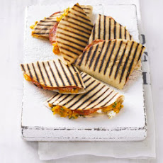 Sweet Potato & Chorizo Quesadillas