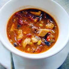 Spicy Chicken Chilli Soup