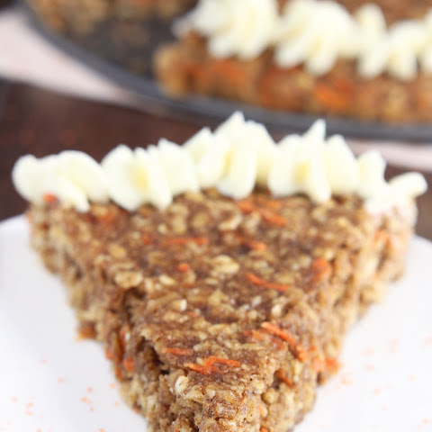 Carrot Cake Oatmeal Cookie Cake