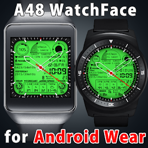 Cover art A48 WatchFace for Android Wear