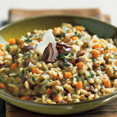 Chestnut Risotto with Butternut Squash