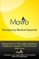 Screenshot of Medical Spanish - AUDIO (EMSG)