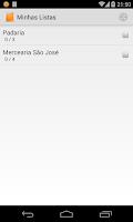 Screenshot of Minhas Compras