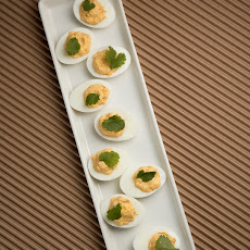 Mario Batali's Fiery Chipotle Deviled Eggs
