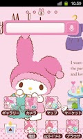 Screenshot of SANRIO CHARACTERS Theme12