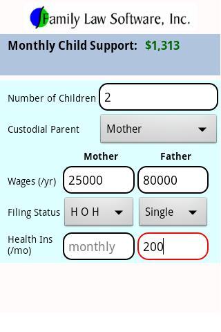 IL Child Support Calculator
