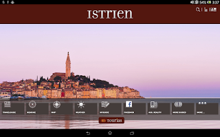 Screenshot of Istria Travel Guide - Tourias