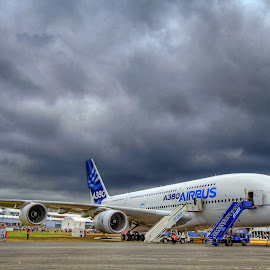 Farnborough Airshow 2014 by Satya Adt - News & Events World Events ( airbus 380, farnborough airshow 2014 )