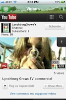 Screenshot of Lynchburg Grows