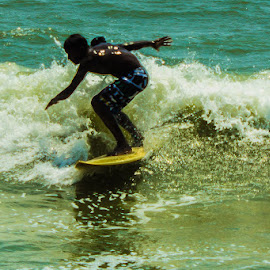Surfing Covelong Point... by Pooja Ganesh - Sports & Fitness Surfing