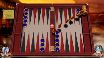 Screenshot of Hardwood Backgammon Free