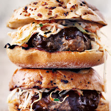 Barbecue Pork Burgers Recipe
