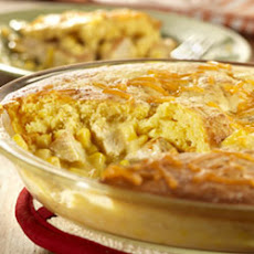 Southern Turkey Cornbread Pot Pie
