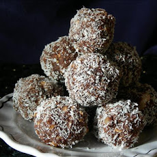 Kiwidutch's Rum Balls, Sultanas, Nuts, No Condensed Milk, Not