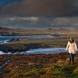 Walking on the Wild Side  by Gerald Horgan - Landscapes Travel ( republic of ireland, europe, ireland, dingle peninsula, atlantic ocean, landscape photography, landscape, photography,  )