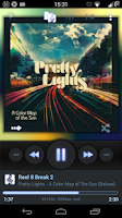 Screenshot of Poweramp Skin Flat Classic