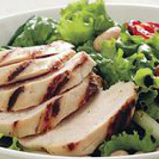 Grilled Chicken-and-Roasted Tomato Salad
