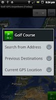 Screenshot of Golf GPS Anywhere FREE