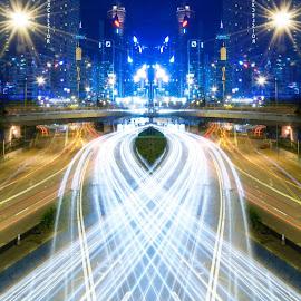 by YS Khoo Photos - City,  Street & Park  Night