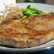 Pan Seared Steak (From Alton Brown)