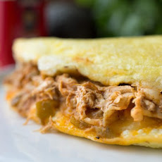 Chicken Enchilada Omelet