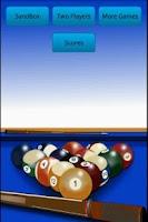 Screenshot of Pool Billiard