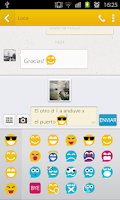 Screenshot of Personal Messenger