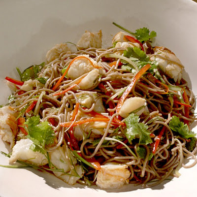 Lobster and Soba Noodle Salad