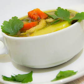 chicken soup by Shihab Qurtuby - Food & Drink Plated Food ( chicken soup )