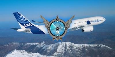 Screenshot of Airbus A330 Airplane Wallpaper