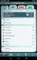 Screenshot of Calgary Airport+Flight Tracker