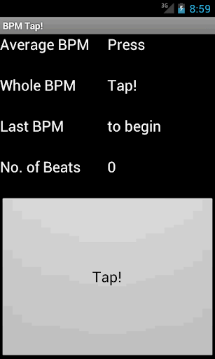 BPM Tap