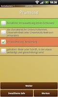 Screenshot of Word Trainer DE Free
