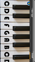 Screenshot of Piano by Jaxily