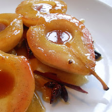 Caramelized Pears with Mascarpone Cream